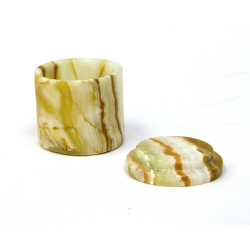 Nature Home Decor Marble Pill Box