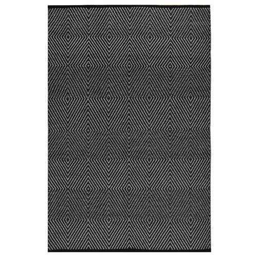 Zen Black/Bright White Rug