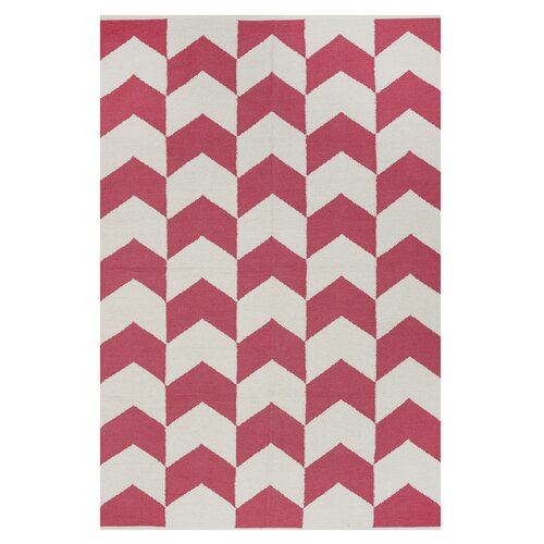 Metro Metropolitan Rose/Bright White Rug