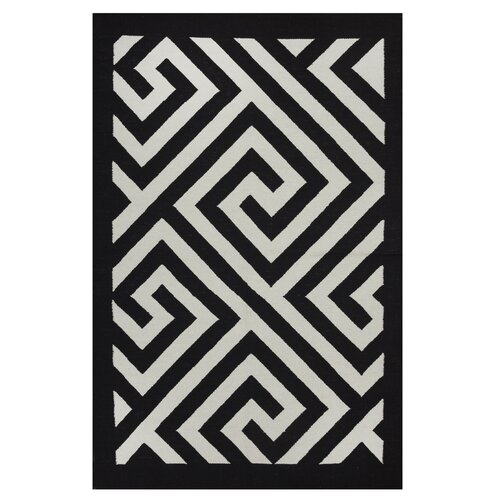 Metro Broadway Black/White Rug