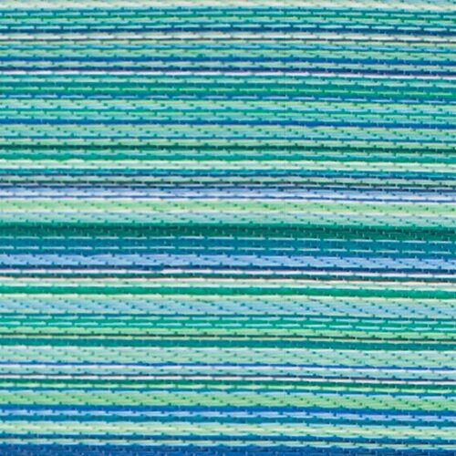 Fab Rugs Turquoise Amp Moss Green Cancun Stripe Indoor