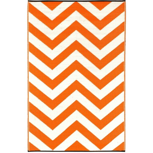 Fab Rugs Laguna Orange Peel World Indoor/Outdoor Rug