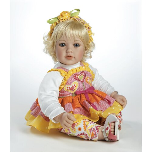 "Adora Dolls Baby Doll ""Jelly Beanz"" Light Blonde Hair / Blue Eyes"