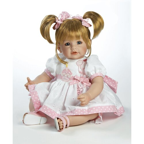 "Adora Dolls Baby Doll ""Happy Birthday Baby"" Sandy Blonde Hair / Blue Eyes"