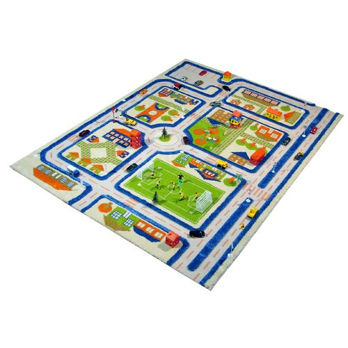 Luca and Company IVI Carpets-Traffic Kids Rug