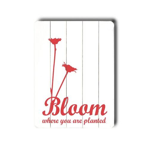 Bloom Wood Sign