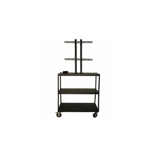 Vutec Flat Panel Cart with 4 Outlets