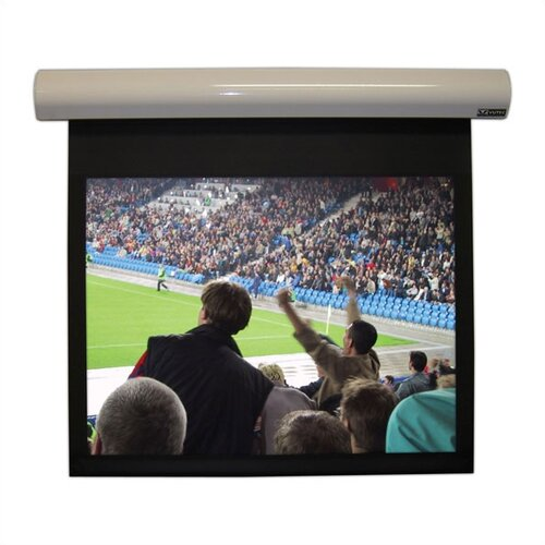 "Vutec Lectric I Matte White  123"" Projection Screen"