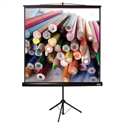 Vutec Matte White Portable Projection Screen