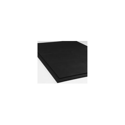 Gym Equipment Rubber Mat in Black