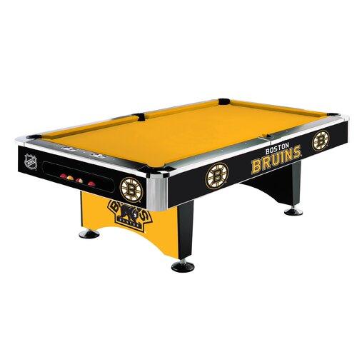 Boston Bruins 8' Pool Table