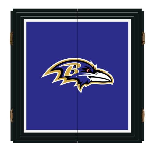 NFL Extreme Fan Dart Cabinet Set