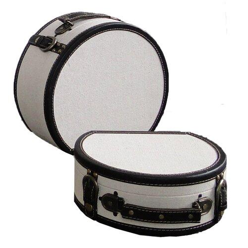 Round Suitcas (Set of 2)