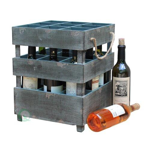 9 Bottle Wine Crate