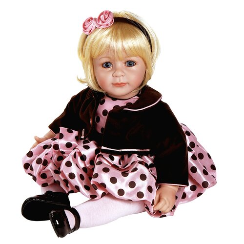 "Charisma Dolls Adora ""Pink Posh"" Doll with Light Blond / Blue Eyes"