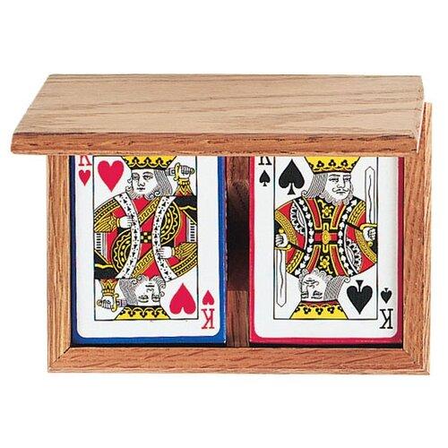 GLD Wood Card Holder
