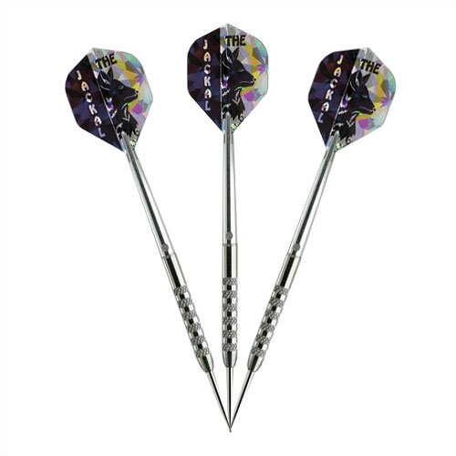 Jackal Steel-Tip Darts (Set of 3)