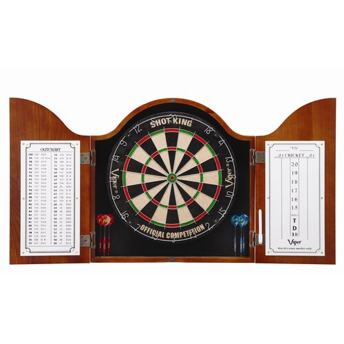 Viper Cambridge Cinnamon Dartboard Cabinet