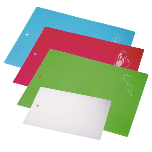 Six Piece Chopping Mat Set