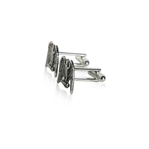 Cuff-Daddy American Eagle Cufflinks in Silver