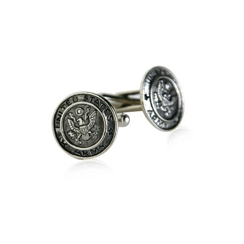 Cuff-Daddy US Army Cufflinks in Silver