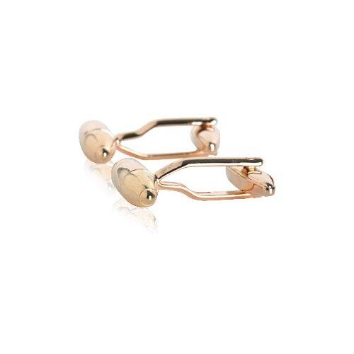 Cuff-Daddy Torpedo Cufflinks in Rose Gold