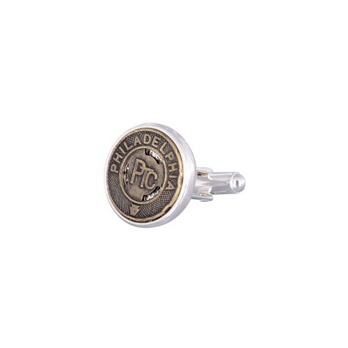 Cuff-Daddy Philadelphia Subway Token Cufflinks