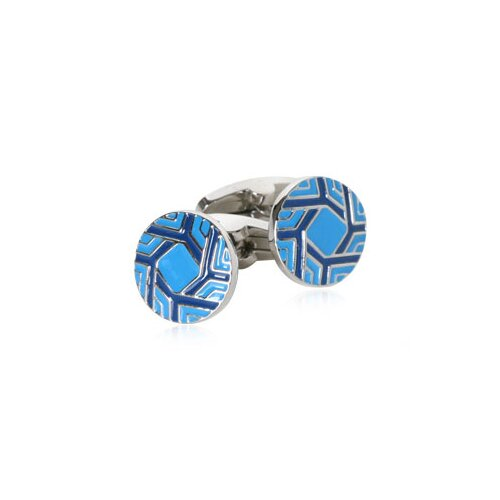 Spinning Cufflinks in Blue