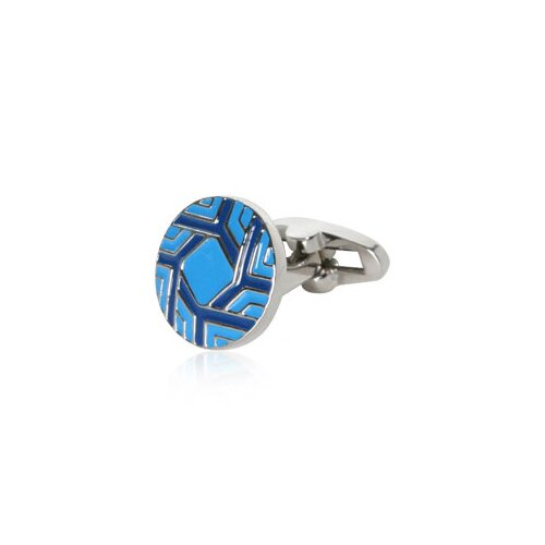 Cuff-Daddy Spinning Cufflinks in Blue