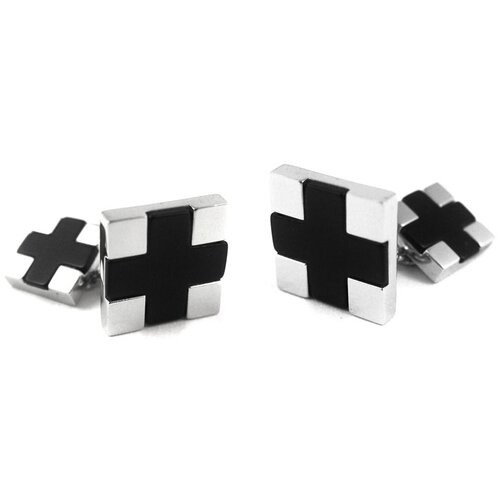 Sterling Silver Cross Chain Cufflinks