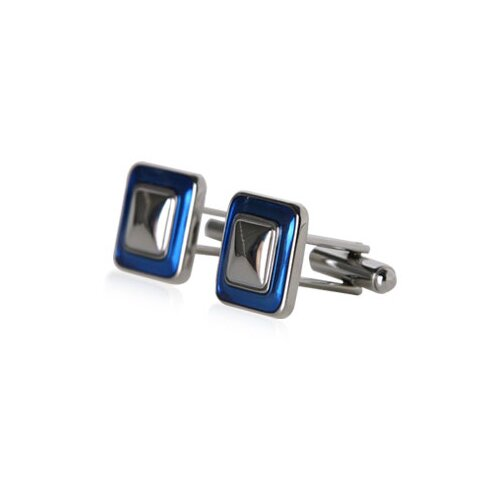 Durable Button Cufflinks in Blue