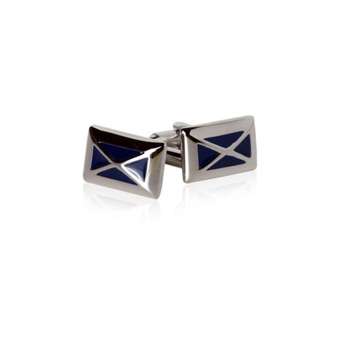 X for Men Cufflinks in Navy Blue