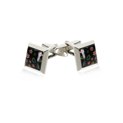 Venetian Cufflinks in Black