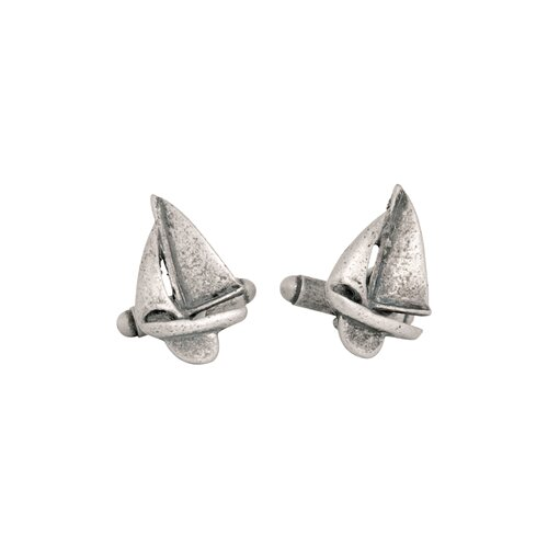 Cuff-Daddy Sailboat Cufflinks