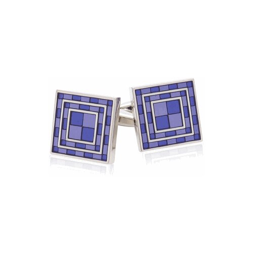 Purple Tiles Cufflinks