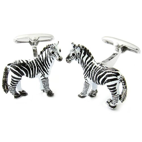 Swarovski Crystal Zebra Cufflinks
