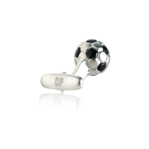 Cracked Pepper Soccer Football and Cleats Cufflinks