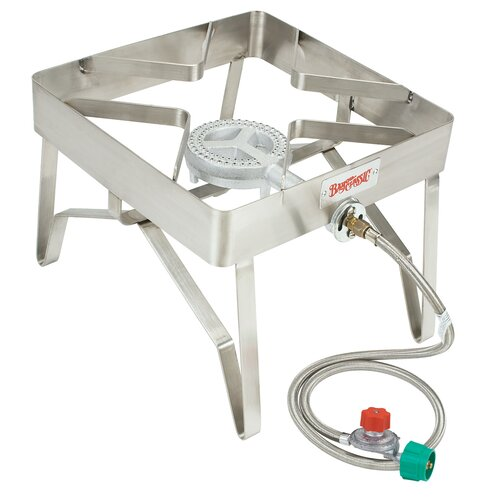 Bayou Classic Stainless Steel Outdoor Patio Stove