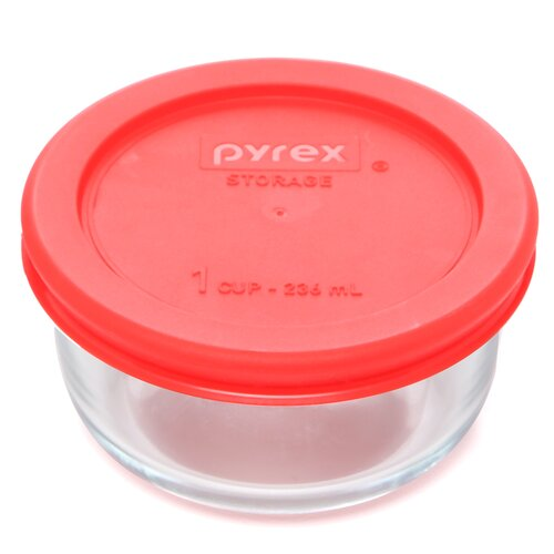 1 Cup Round Storage Container (Set of 6)