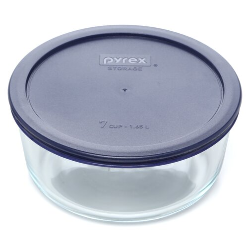 Pyrex Storage Plus 7 Cup Round Dish with Lid