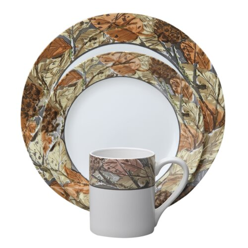 Impressions™ Woodland Leaves 16 Piece Dinnerware Set