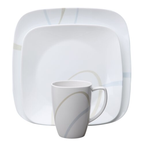 Square™ Sand and Sky 16 Piece Dinnerware Set
