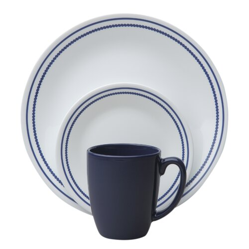 Corelle Livingware Beads 16 Piece Dinnerware Set