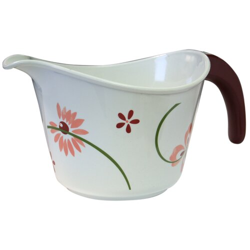 Coordinates 2 Quart Mixing/Batter Bowl with Pretty Pink Design