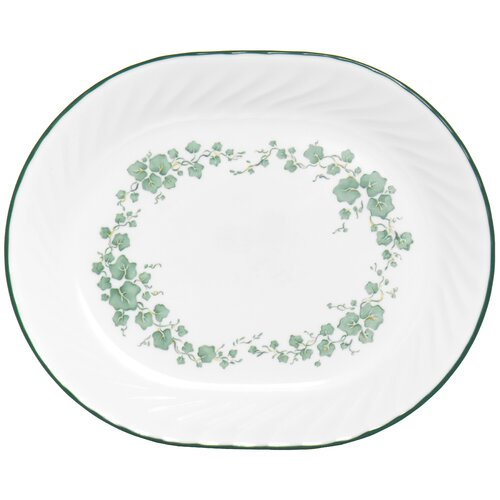 "Corelle Impressions Callaway 12.25"" Oval Serving Platter"