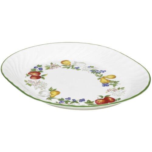 "Corelle Impressions Chutney 12.25"" Oval Serving Platter"