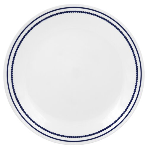 "Corelle Livingware 10.25"" Breathtaking Beads Dinner Plate"