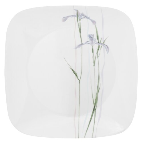 "Corelle Square 10.5"" Shadow Iris Dinner Plate"
