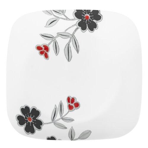 """Corelle Square Mandarin Flower 9"""" Plate"""