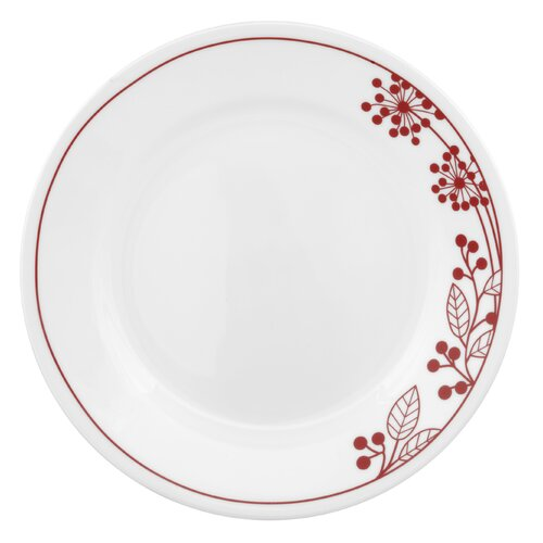 "Corelle Vive 8.5"" Berries and Leaves Plate"
